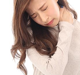 ストレートネックによる肩こり・首の痛み